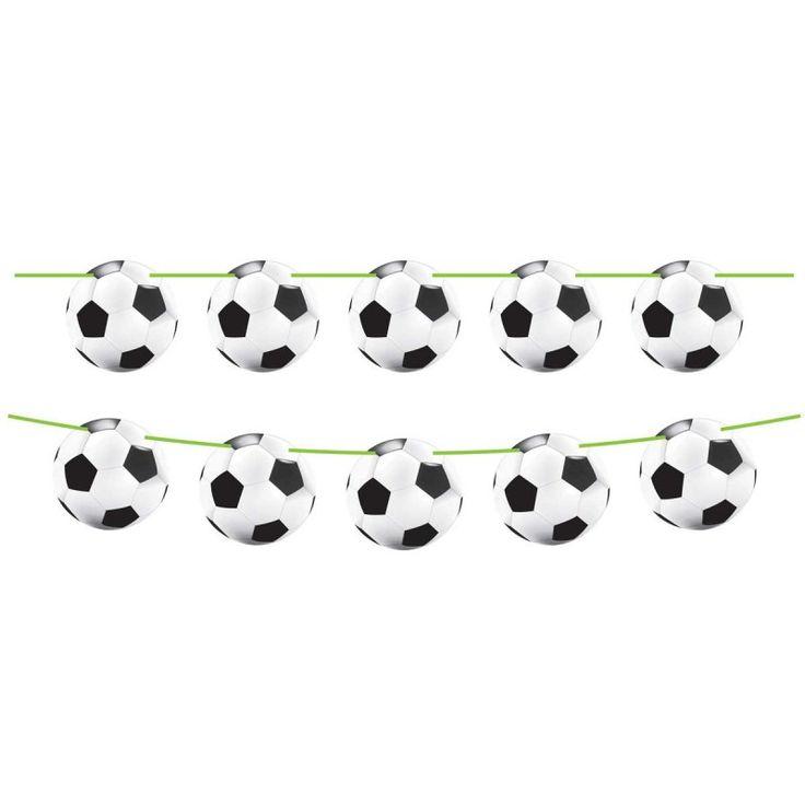 Voetbal Vlaggenlijn - 12 meter.