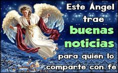 ESTE ANGEL NAVIDEÑO HA LLEGADO A TU MURO PARA ANUNCIAR UN TIEMPO DE ABUNDANCIA Y PROSPERIDAD A QUIEN LO COMPARTE CON FE!!