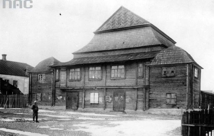 Grodno - wooden synagogue (March, 1926.).