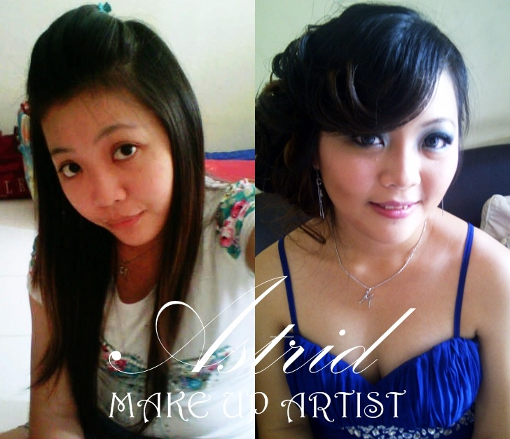 Another before after make up