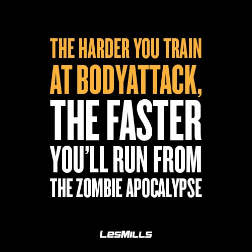 Just another awesome benefit of BODYATTACK... ‪#‎trainhard‬ ‪#‎survivalofthefittest