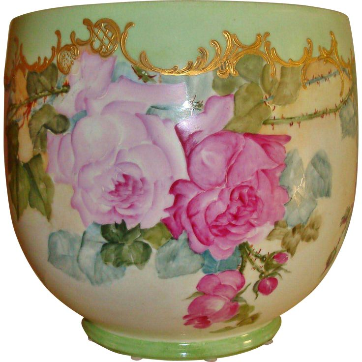 Gorgeous Antique Limoges French Hand Painted Porce…