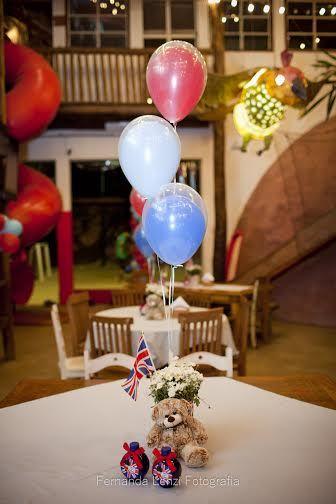 decoracao festa londres:Festa Londres, London Theme, Decoração Soldadinho de Chumbo