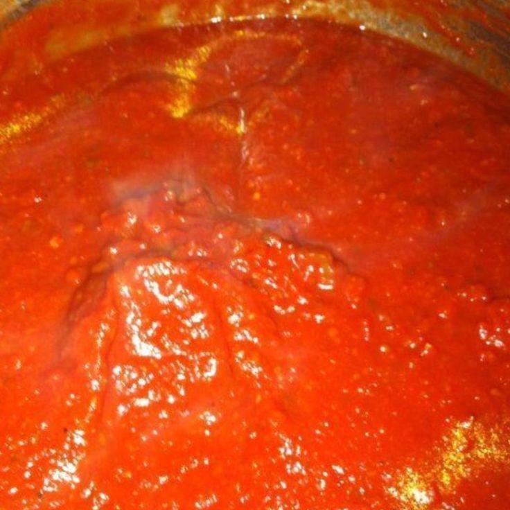 Authentic Italian Pasta Sauce
