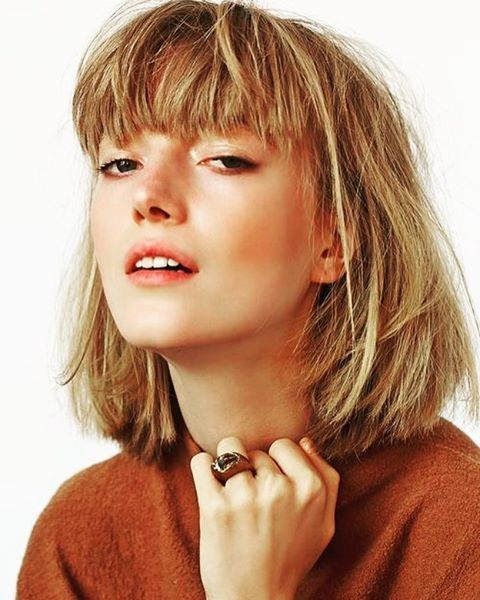 The Best Haircut for 2017 is the Bob With Bangs | StyleCaster