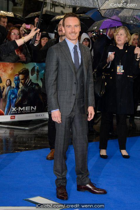 "Michael Fassbender ""X-Men: Days Of Future Past"" UK Premiere at Odeon Cinema http://icelebz.com/events/_x-men_days_of_future_past_uk_premiere_at_odeon_cinema/photo21.html"