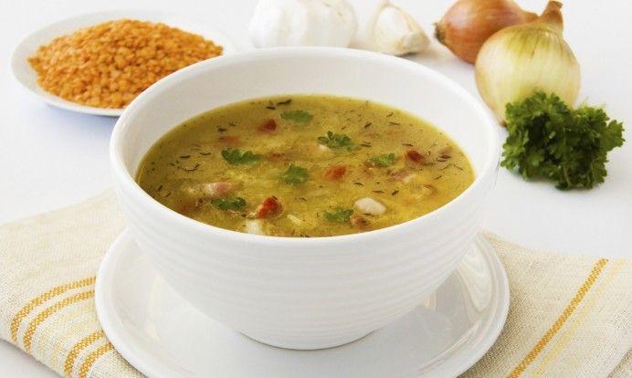 Sunn oppskrift på vegetarisk linsesuppe på kjøttfri mandag