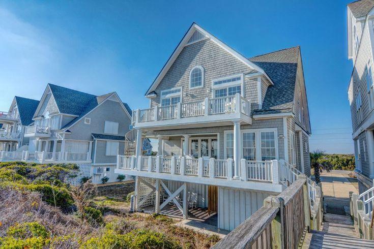 Island Drive 4366 | Oceanfront Vacation Rental | N. Topsail Beach NC 6 bedrooms