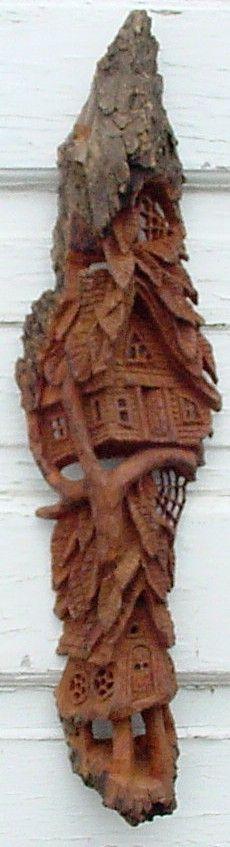 Best bark carving images on pinterest
