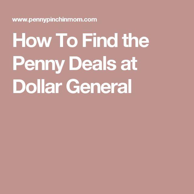 Penny deals dollar general 2018