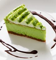 Green Tea Cheesecake - I don't even like cheesecake but this I could get into!