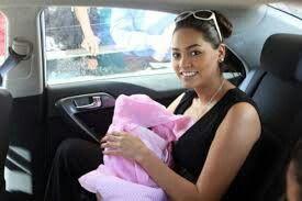 Mila y su hijita isabella ♥