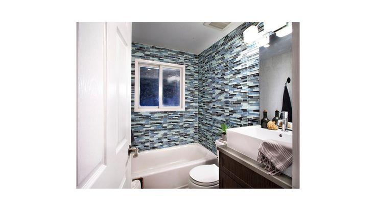 Decoracion azulejos para ba os peque os azulejos con for Banos pequenos con estilo