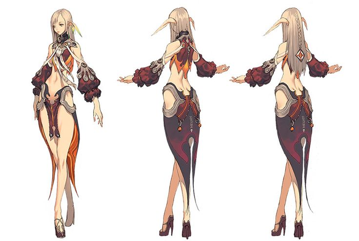 jin female blade and soul outfit - Google Search