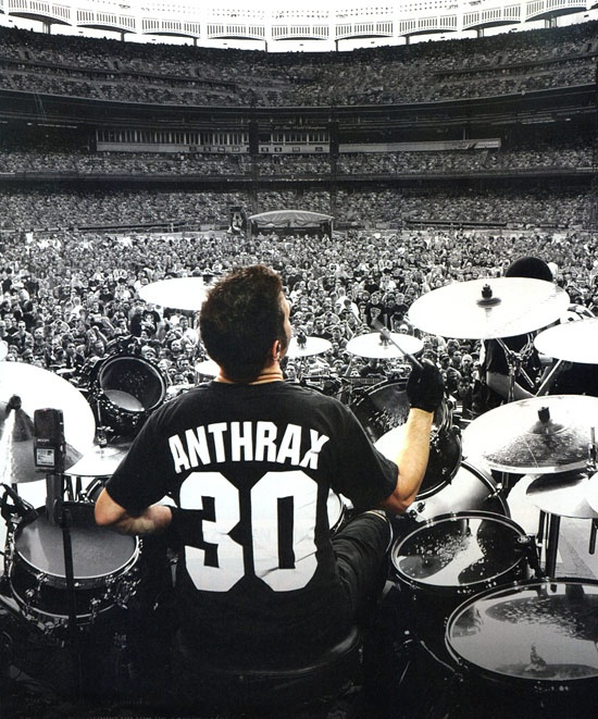 Charlie Benante (Anthrax, Stormtroopers of Death (S.O.D.))