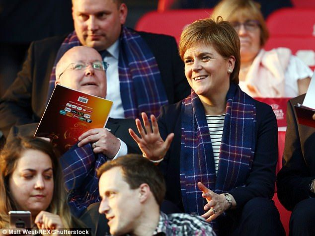7/21/17 Access DENIED: No 10 cancels Nicola Sturgeon's right to demand meetings with Theresa May  As First Minister, Sturgeon has previously had licence to demand meetings   But in a clamp down on the SNP chief, No 10 ordered she will see David Mundell  Downing Street insists the Scotland Secretary is at the 'same level as her'