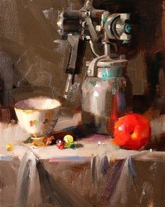 Gallery of original artwork by professional artist Qiang Huang, on DailyPainters.com