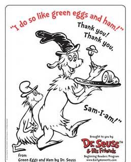 free dr seuss printable coloring activity sheets