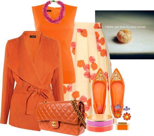 """tangerine.dreamz"" by twosisterzcreationz on Polyvore"