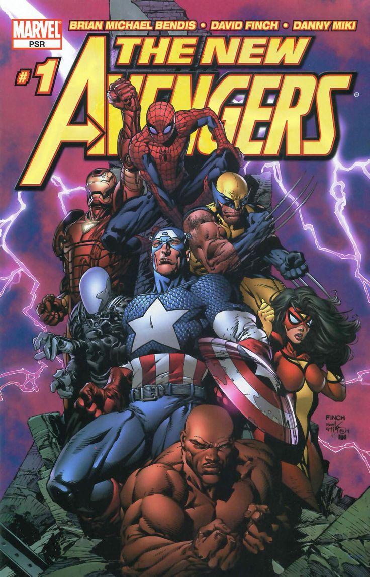 New Avengers #1 (Variant Cover)