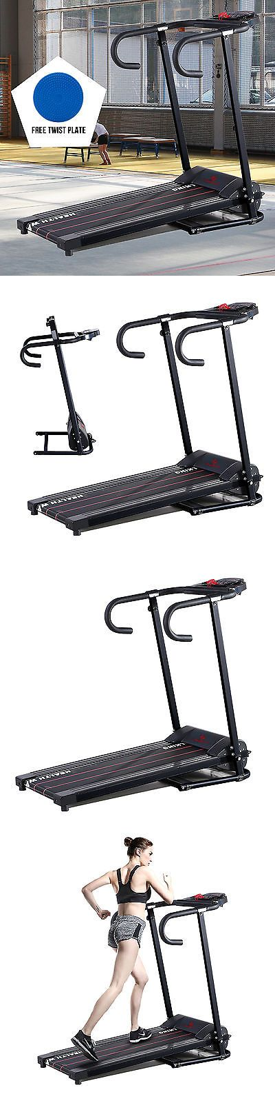 Treadmills 15280: Treadmill Portable 500W Electric Motorized Folding Runing Cardio Fitness Machine -> BUY IT NOW ONLY: $178.9 on eBay!