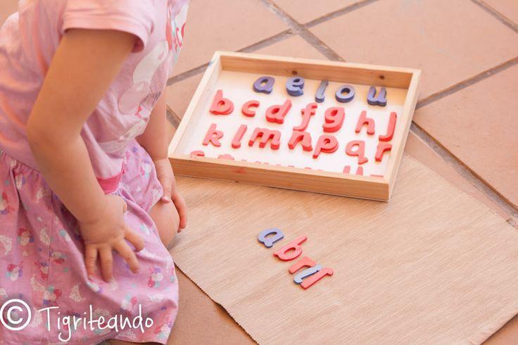 Alfabeto movil Montessori: lowcost, express y DIY - Tigriteando
