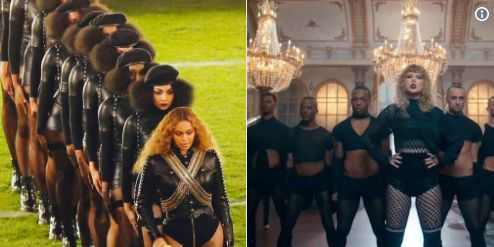 Beyonce fans are accusing Taylor swift of using Beyonce's Lemonade concept in her new album http://ift.tt/2wIgVA5