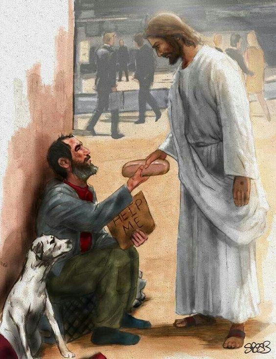 Jesus is the Bread of life, prophetic art.