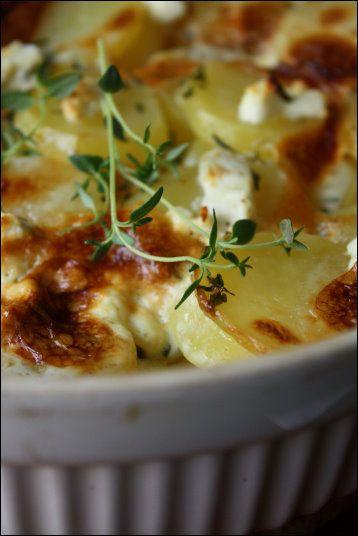 Chevre potatoes
