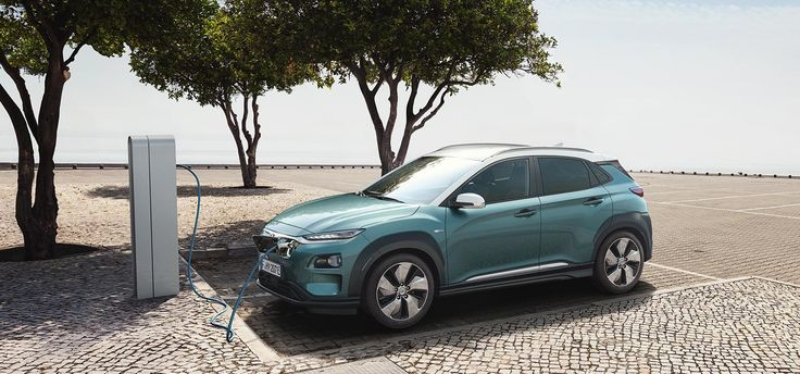 Hyundai unveils the Kona Electric compact SUV with a range of up to 292 miles   Electrek