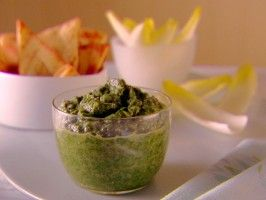 Spinach and Cannellini Bean Dip from CookingChannelTV.com