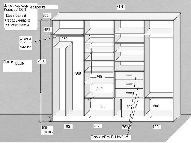 """✅ Проект """"Космоградиент"""" Юлии Хохловой @radades наполнение шкафа➖ в коридор ➖ ↔️ 3200 ↕️2900    большие двери без ручек. С фурнитурой Blum достаточно легкого нажатия и благодаря TIP-ON фасады без ручек открываются без усилий.    из-за большого размера двери нам понадобилось оснастить каждую дверь дополнительными магнитами для избежания не запланированного открытия. ⛔️ Важной задачей стояло совместить на одной поверхности двери два вида краски ➖ матовая и глянцевая. ✅ с задачей…"""