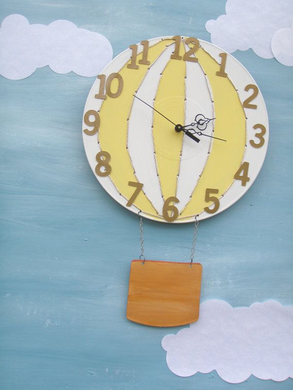 LOVE this clock created by a fellow local artist.
