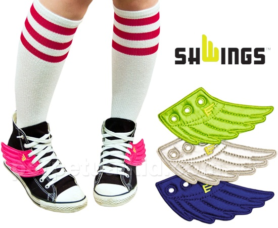 SHWINGS - so cool! I would so wear these!Geek, Running Shoes, Awesome, Green, Hermes Shoes, Shoes Wings, Old Shoes, Accessories, Shwings