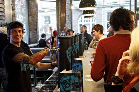 This historical building was stripped back to reveal its industrial skeleton where we showcase the world's best craft beers as well as Newcastle's finest musicians.  Located between the historic Grainger Town and the picturesque Quayside, BrewDog Newcastle is injecting a dose of hardcore craft beer into an area drowning in cheap trebles and nasty shots. Hang out, play board games, rock the vintage pin ball machine, talk to friends and try some of the most exciting beer from all over the…