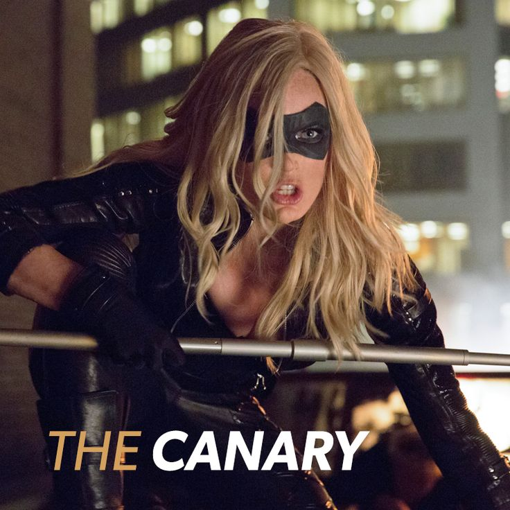 The Canary! #Arrow is all new tonight!