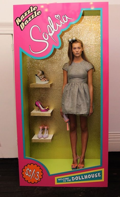 Sophia Webster Spring 2013 Barbie Doll Presentation