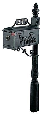 Imperial Mailbox Systems Residential Mailbox System with Horse and Buggy Mailbox by Imperial Mailbox Systems. $365.00. Budget Mailboxes has a 1-day sale on the Residential Mailbox System with Horse and Buggy Mailbox by Imperial Mailbox Systems. This item is sometimes also known as: 227R - - - WL-227RBM