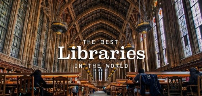 The 15 most Spectacular Library In The World