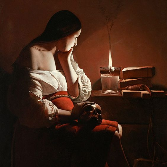 Georges de La Tour – Magdalene with the Smoking Flame (1640)