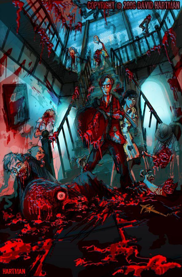 DEAD ALIVE by Hartman by sideshowmonkey on DeviantArt