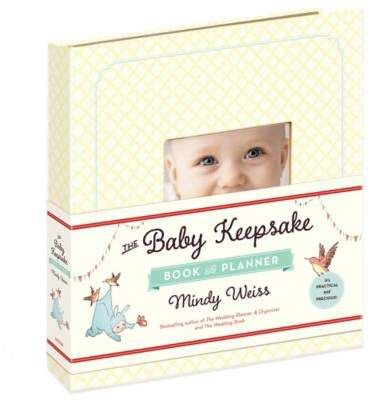 The Baby Keepsake Book and Planner by Mindy Weiss #Baby #Keepsake  #book #Planner  #Newborn #MumToBe #Gift #Afflink
