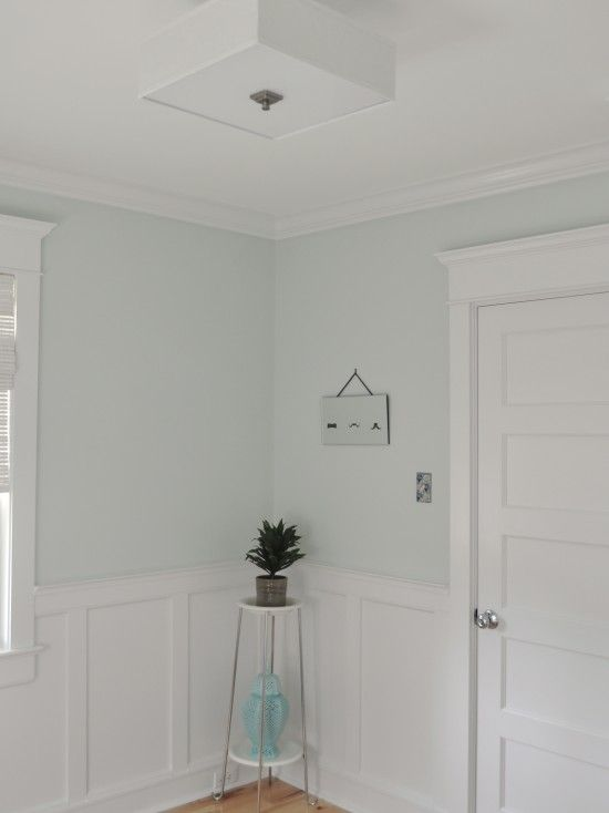 Lovely Craftsman Trim Around Door And Window, Board And Batten.