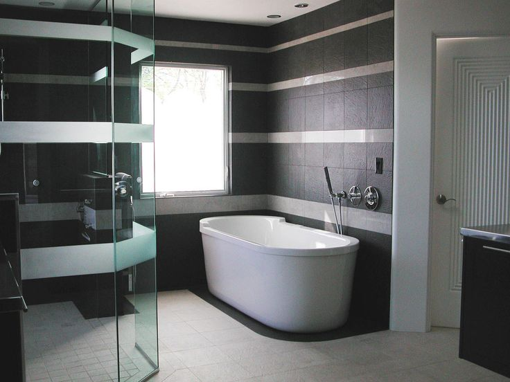 Modern Bathroom Tiles Design Ideas I Think Watching This Tub Fill With  Water Would Be A Pleasure Unto Itself@  Http://www.amazon.com/gp/product/B01Cu2026