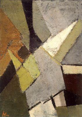 Composition - Nicolas de Staël 1949