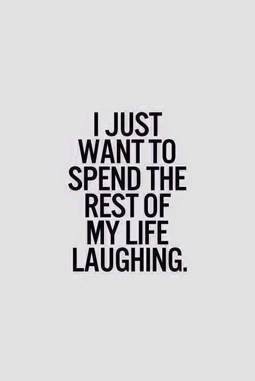 Haha Previous Pinner, you're funny But - I want to be Happy (Laughing) throughout the rest of my life... How about you? :) <<To the bank ;)