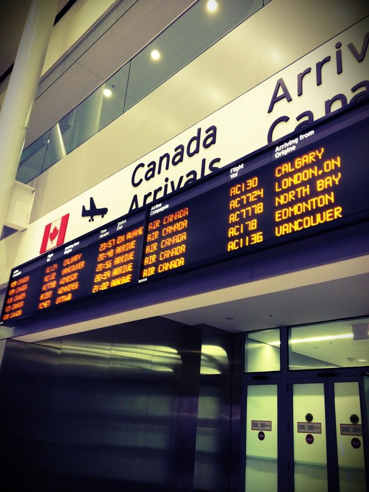 Toronto Pearson International Airport (YYZ) in Mississauga, ON