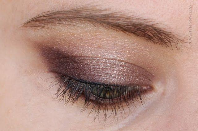 Svitlana Nalyvaiko: Стойкие тени для век Maybelline Eye Studio Color Tattoo 24HR Gel Cream Shadow в оттенке Creme de Rose 91.
