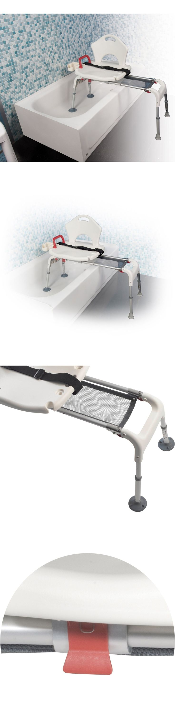 Transfer Boards and Benches: Elderly Tub Transfer Bench Folding Shower Sliding Senior Seat Chair Disabled 300 -> BUY IT NOW ONLY: $159.99 on eBay!