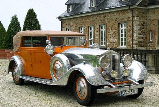 "1934 ""Star of India"" Rolls-Royce"